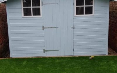 Outside Shed Repaint